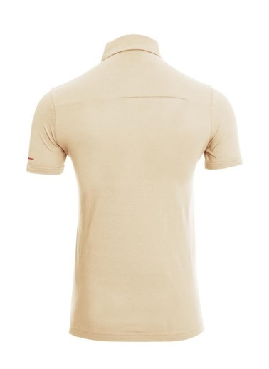 Panthzer  Tofino Erkek Polo Yaka T-Shirt Bej